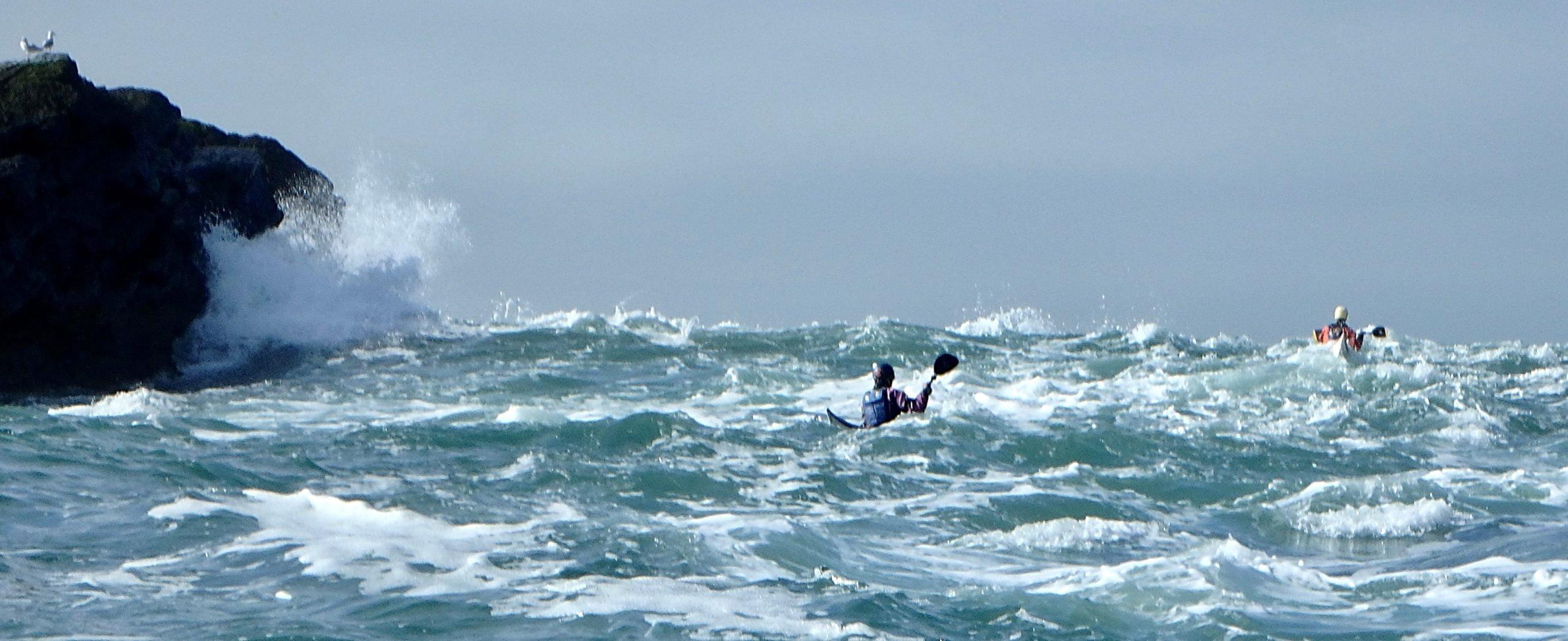 Nice big sea time to play