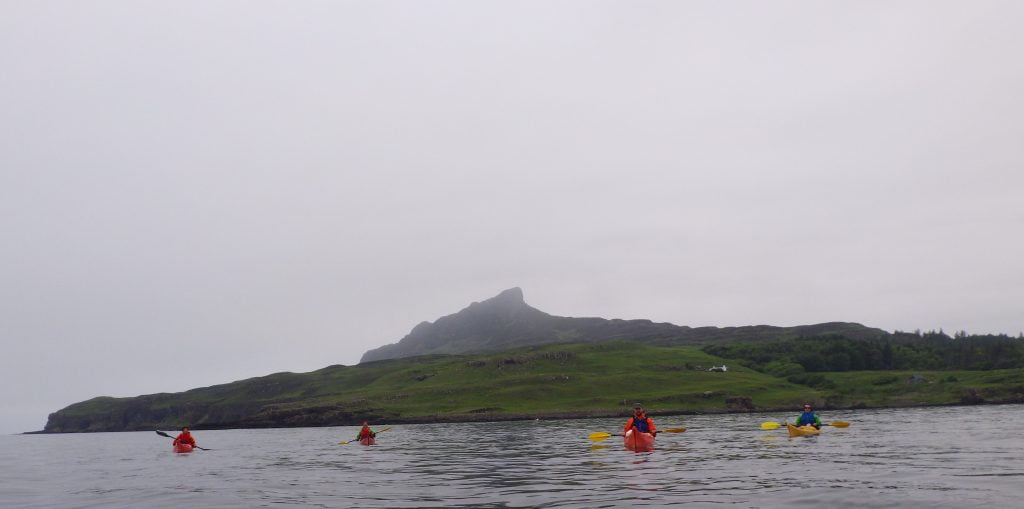 An Sgurr Isle of Eigg with discoverykayaking.co.uk