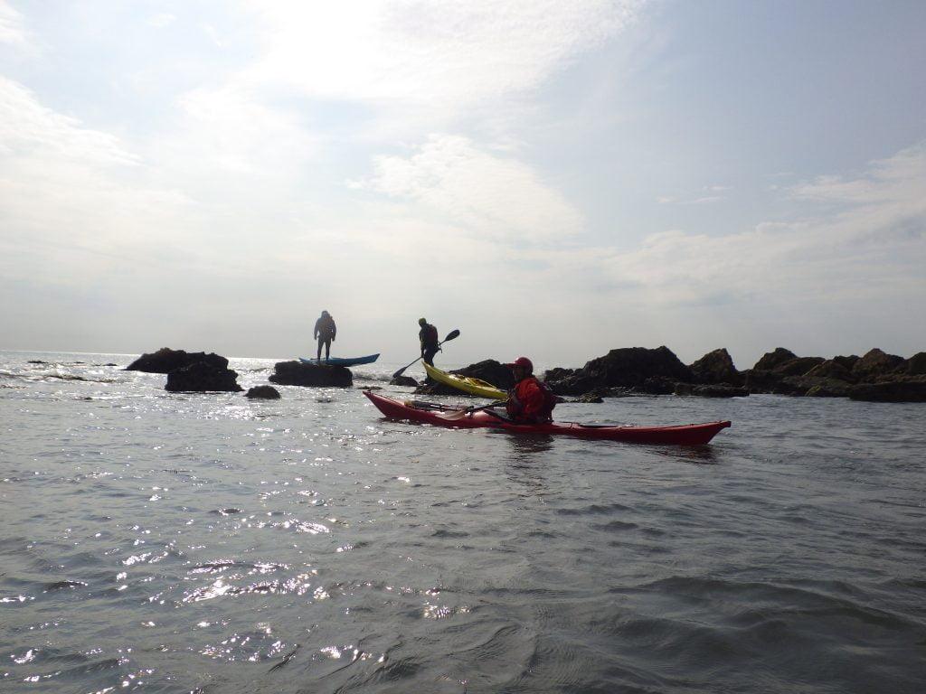 British Canoeing Coastal sea kayak award www.discoverykayaking.co.uk