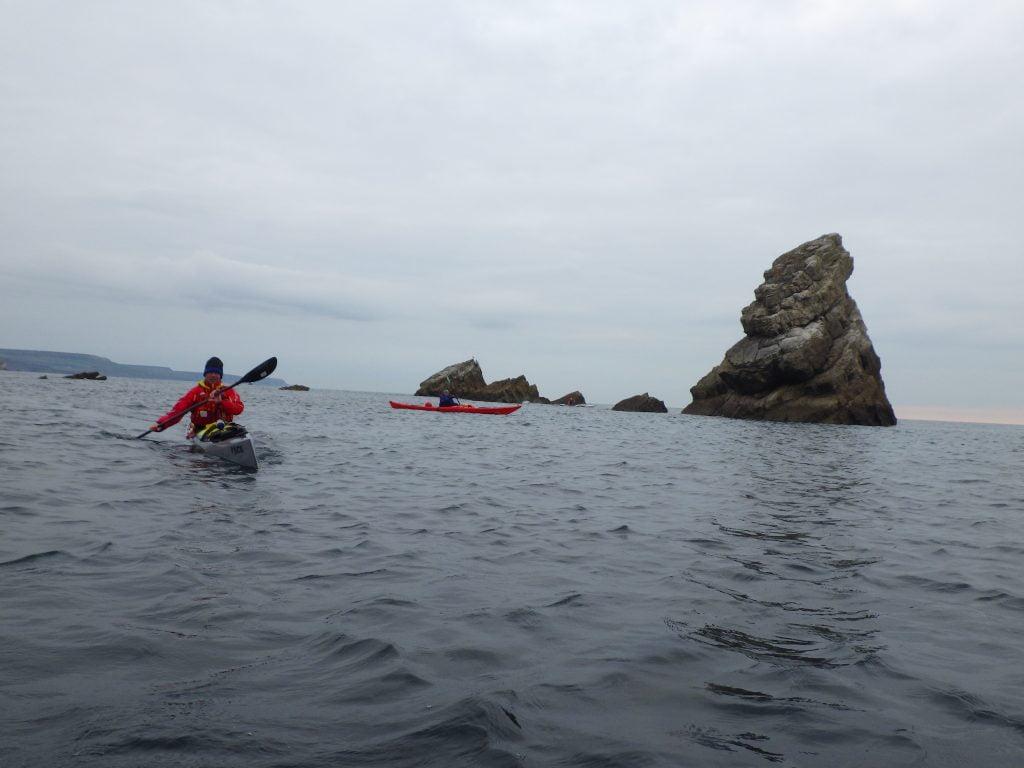 Coastal sea kayak award provider www.discoverykayaking.co.uk