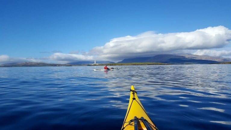Sea kayaking the Ilse of Mull