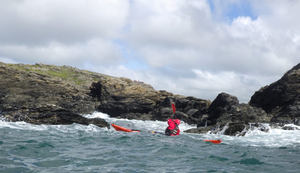 Personal Performance awards Coastal sea Kayak Award www.discoverykayaking.co.uk
