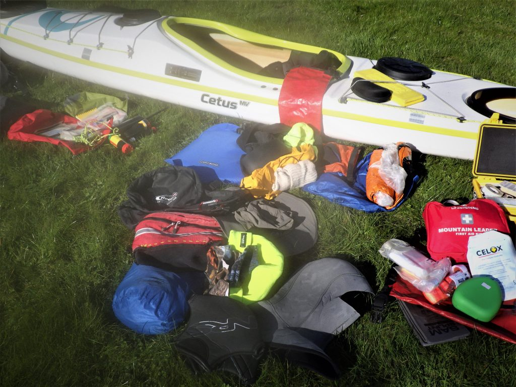 Packing a sea kayak day hatch for
