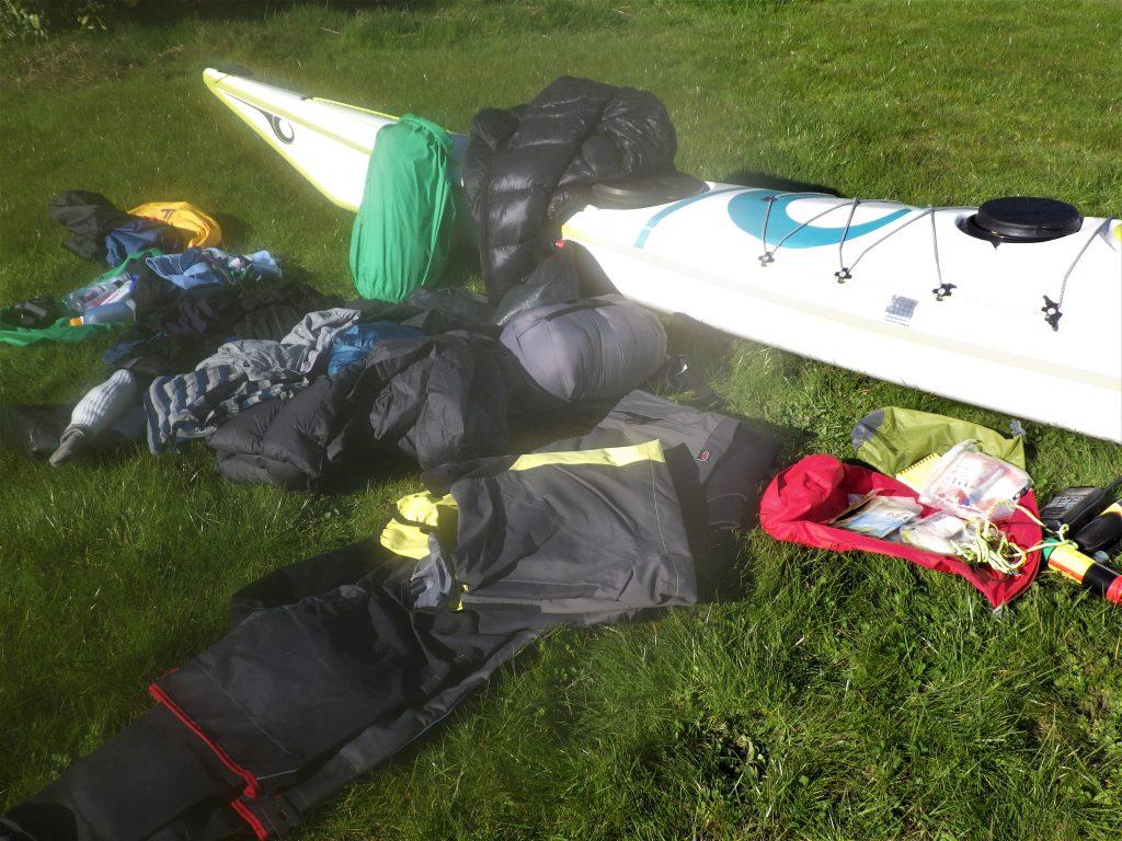 Sea Kayaking expedition 4th hatch kit