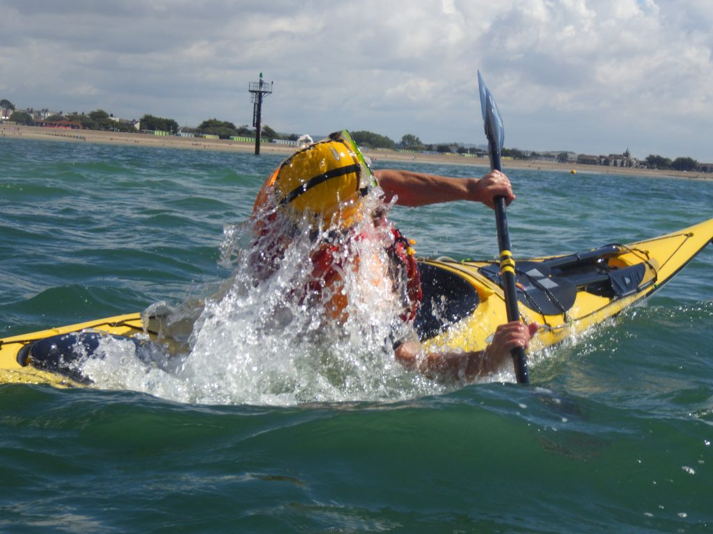 Sea kayaking clinic on south coast with discoverykayaking.co.uk
