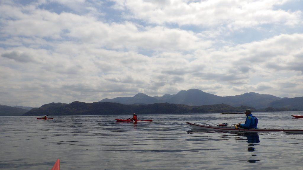 Sea kayaking the sound of Arisaig