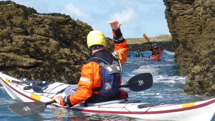 Sea Kayak Leader Training Dorset