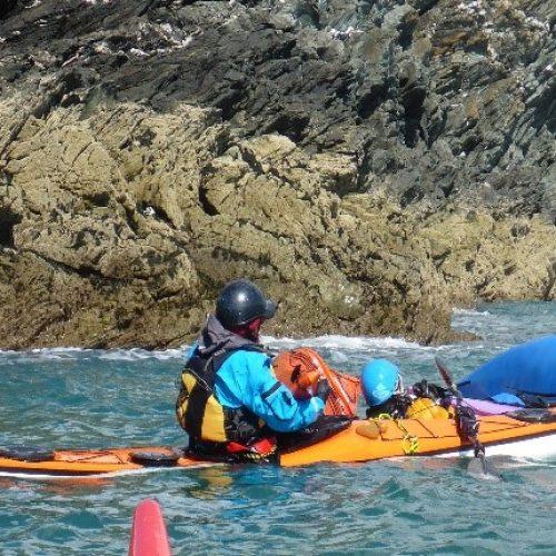Double Sea Kayak Rescue