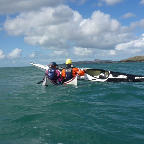 Sea Kayak Rescue supported