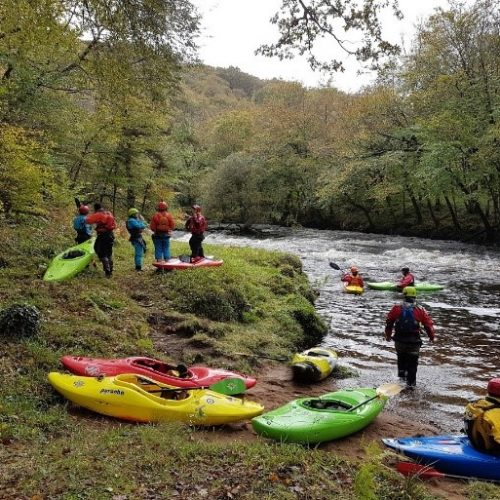 White Water weekend on River Dart